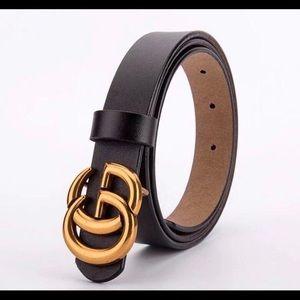 GG Gucci belt -Black Belt
